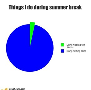 Things I Do During Summer Break