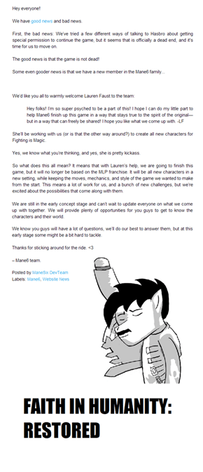 Good Guy Lauren Faust