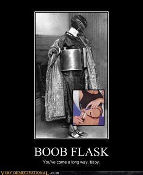 That Is a Giant Flask