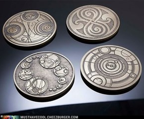 Doctor Who Gallifreyan Coasters