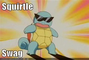 Squirtle  Swag