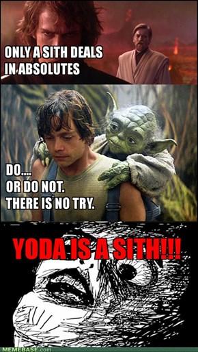 YODA IS A SITH!!
