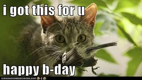 i got this for u  happy b-day