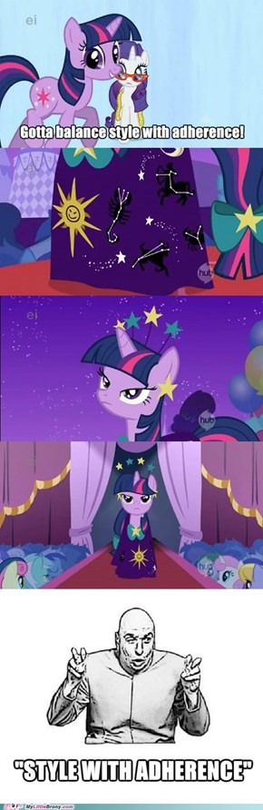 Shows what you know, Twilight Sparkle!