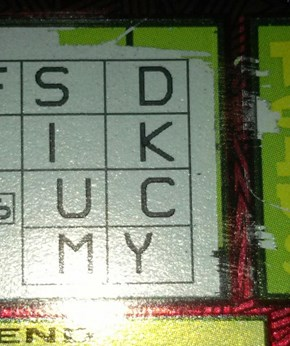 Is This Scratch Ticket Trying to Tell You Something?