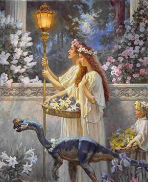 Beautiful Pipedream of the Day: Dinotopia Art Show