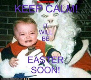 Keep Calm It Will Be Easter Soon!