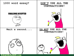 The Boss way of writing essay's