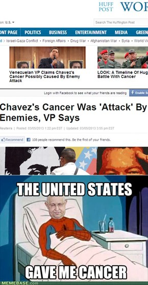 The United States Gave Me Cancer