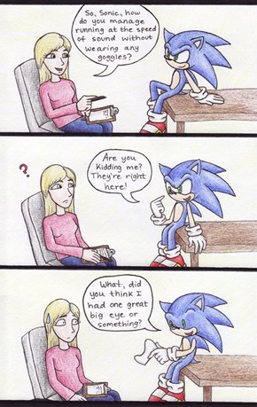 How Sonic is Able to Go Fast
