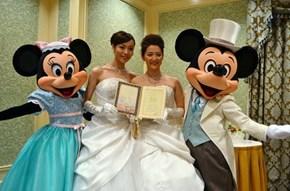 Tokyo Disney's First Same-Sex Wedding!