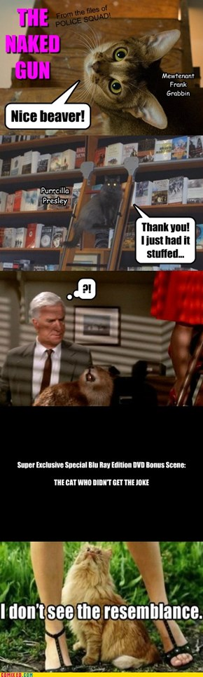 THE NAKED GUN - Reenactment / Tribute / Lolcat Version