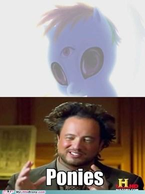 Ponies = Aliens?