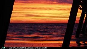 Glenelg Beach, Adelaide, Australia, Sunset