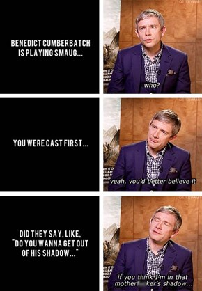 Martin Freeman is Adorable!