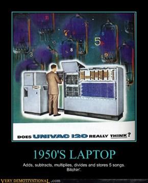 1950'S LAPTOP