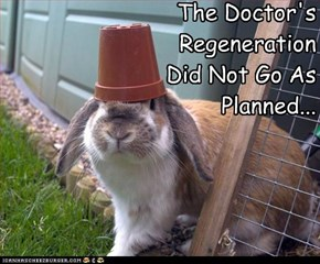 The Doctor's Regeneration Did Not Go As Planned...