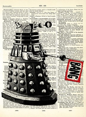 awesome dalek dictionary print