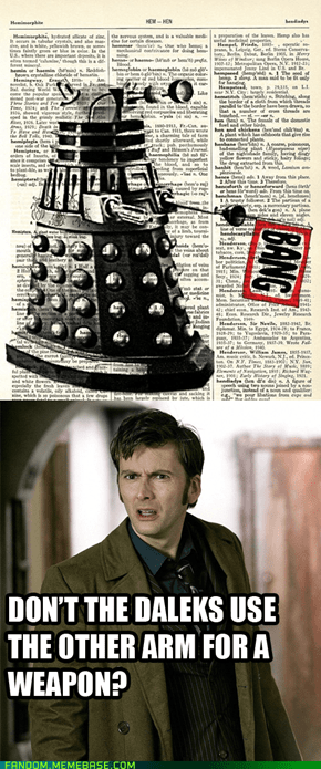 Re-framed: Dalek fail