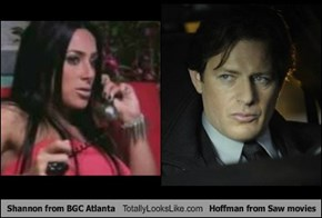 Shannon from BGC Atlanta Totally Looks Like Hoffman from Saw movies