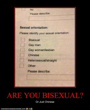 ARE YOU BISEXUAL?