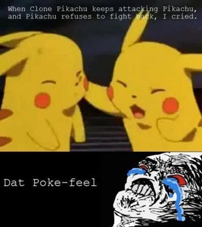 Pikachu Turns the Other Cheek