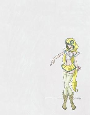 Dunsparce Girl