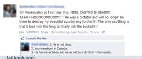 Castro - the dictator of Venezuela
