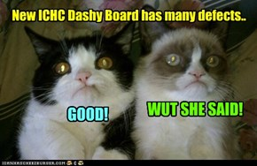 A couple of independent and unbaised evaluations of new ICHC Dashy Board..