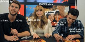 Oblivious Josh Hutcherson is Oblivious