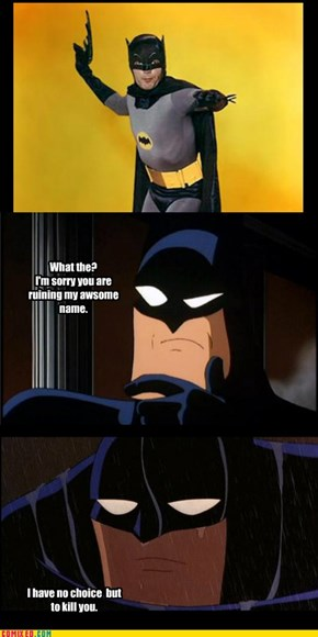 Batman no!
