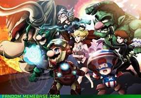 Super Avenger Bros.