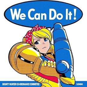 Samus Has Your Back on International Women's Day