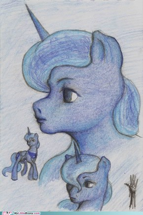 Princess Luna: The many faces of a dream
