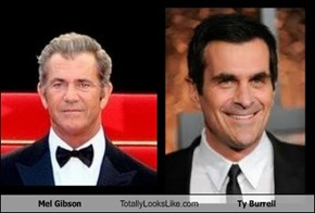 Mel Gibson Totally Looks Like Ty Burrell
