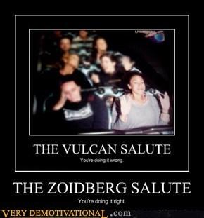The Zoidberg Salute
