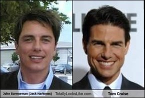 John Barrowman (Jack Harkness) Totally Looks Like Tom Cruise