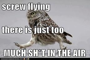 screw flying