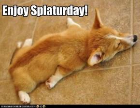Enjoy Splaturday!