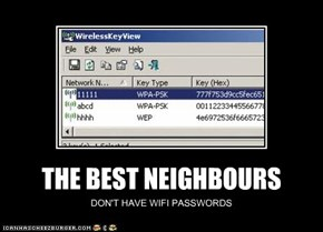 THE BEST NEIGHBOURS