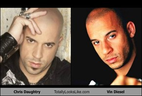 Chris Daughtry Totally Looks Like Vin Diesel