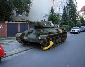 Parking Violations Apply to Military-Grade Vehicles Too!