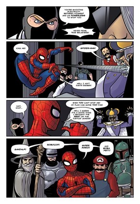 April Fool's Day With Dr. McNinja