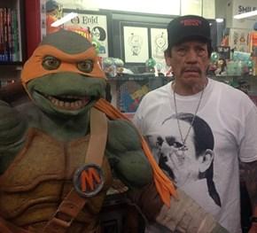 Danny Trejo, Meet Michelangelo