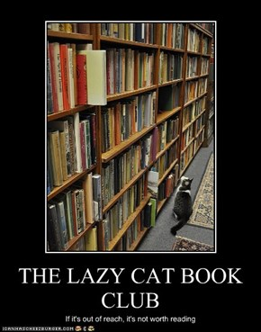 THE LAZY CAT BOOK CLUB