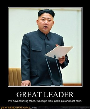 Great Leader Hungry