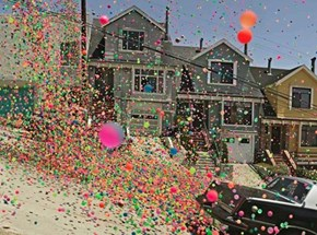 The Bouncy Balls Invade San Francisco!