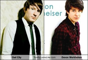 Owl City Totally Looks Like Devon Werkheiser