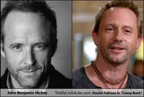 "John Benjamin Hickey Totally Looks Like Daniel Fathers in ""Camp Rock"""