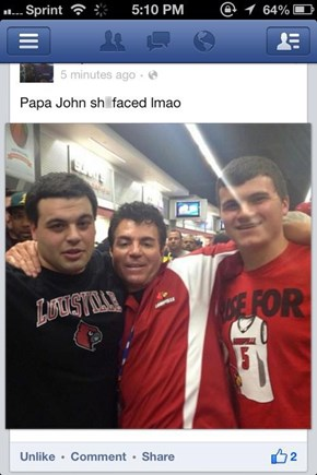 Better Pizza, Better Ingredients, Papa John!